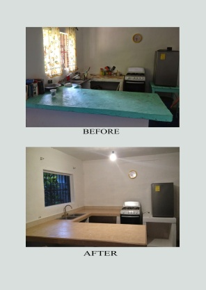 Kitchen Before & After