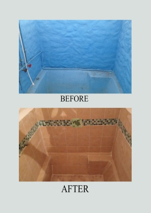 Amazing Before & After of Shower
